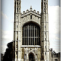 King's College Chapel - Poster by Stephen Stookey