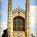King's College Chapel by Stephen Stookey
