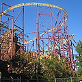 Kings Dominion - Volcano - 01133 by DC Photographer