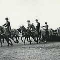King�s Troop Of The R.h.a. Rehearse�. Even The Gun Goes by Retro Images Archive