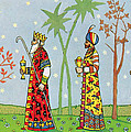 Kings With Gifts by Munir Alawi