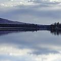 Kingsbury Pond Maine - April by Lisa Bryant