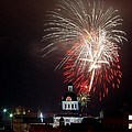 Kingston New Years Eve Fireworks by Paul Wash