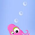 Kiniart Octopus by Kim Niles