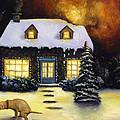 Kinkade's Worst Nightmare by Leah Saulnier The Painting Maniac