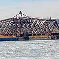 Kinnickinnic River Swing Bridge by Susan McMenamin