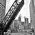 Kinzie Street Bridge by Frozen in Time Fine Art Photography