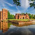 Kirby Muxloe Castle by David Ross