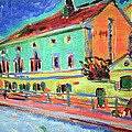Kirchner's Houses In Dresden by Cora Wandel