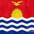 Kiribati Flag by Luis Alvarenga
