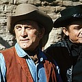 Kirk Douglas Johnny Cash A Gunfight  Old Tucson Arizona 1971 by David Lee Guss
