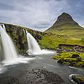 Kirkjufellsfoss by Simon Gelfand
