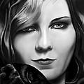 Kirsten Dunst by Andrew Harrison