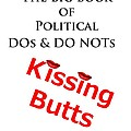 Kissing Butts Book Cover by Bruce Iorio