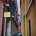 Kissing Lanes Seville by Joan Carroll