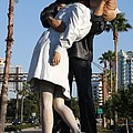 Kissing Sailor - The Kiss - Sarasota by Christiane Schulze Art And Photography