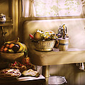 Kitchen - A 1930's Kitchen  by Mike Savad