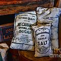 Kitchen - Food - Sugar And Salt by Paul Ward
