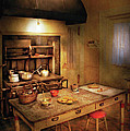 Kitchen - Granny's Stove by Mike Savad