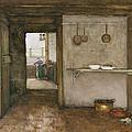Kitchen Interior, C.1899 by Johannes Hendrik Weissenbruch
