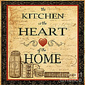 Kitchen Is The Heart by Jean Plout