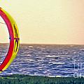 Kite Boarder 2 by Dawn Gari