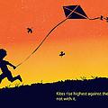 Kite Flier by Sassan Filsoof