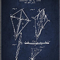 Kite Patent From 1892 by Aged Pixel