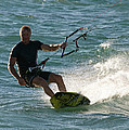 Kite Surfer 05 by Rick Piper Photography