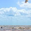 Kite Surfing by Tara Potts