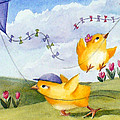 Kites In March by Janet Zeh
