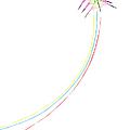 Kites On White - 2 by Rob Huntley