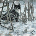 Kitty In The Cold by Trish Tritz