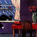 Kitty Over Manhattan by Lance Headlee