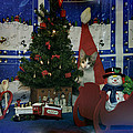 Kitty Says Merry Xmas by Thomas Woolworth