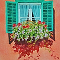 Kitzbuhel Window by Mary Ellen Mueller Legault