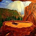 Kiva In Bandelier National Monument by Janis  Tafoya