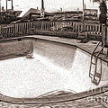 Kiva Motel -  Empty Pool by Gregory Dyer