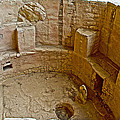 Kiva With Sipapu In Spruce Tree House On Chapin Mesa In Mesa Verde National Park-colorado by Ruth Hager