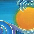 Kiwiana Surf Sun by Reina Cottier
