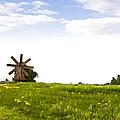 Kizhi Island Windmill Russia by Glen Glancy