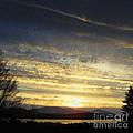 Klamath Lake Sunset by Todd L Thomas