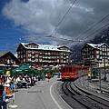 Kleine Schedegg Switzerland by Nina Kindred