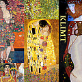 Klimt Collage by Philip Ralley