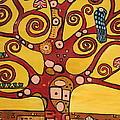 Klimt Study Tree Of Life by Stefan Duncan