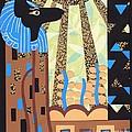 Klimt's Paper Anubis by Sarah Durbin