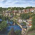 Knaresborough Yorkshire by Richard Harpum