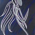 Kneeling Angel by Sheen Douglas Eisele