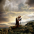 Kneeling Knight by Jill Battaglia