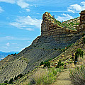 Knife Edge Road Overlooking Montezuma Valley In Mesa Verde National Park-colorado  by Ruth Hager